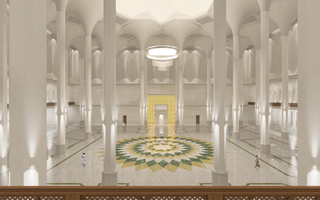 Vista Sala Preghiera dal mezzanino