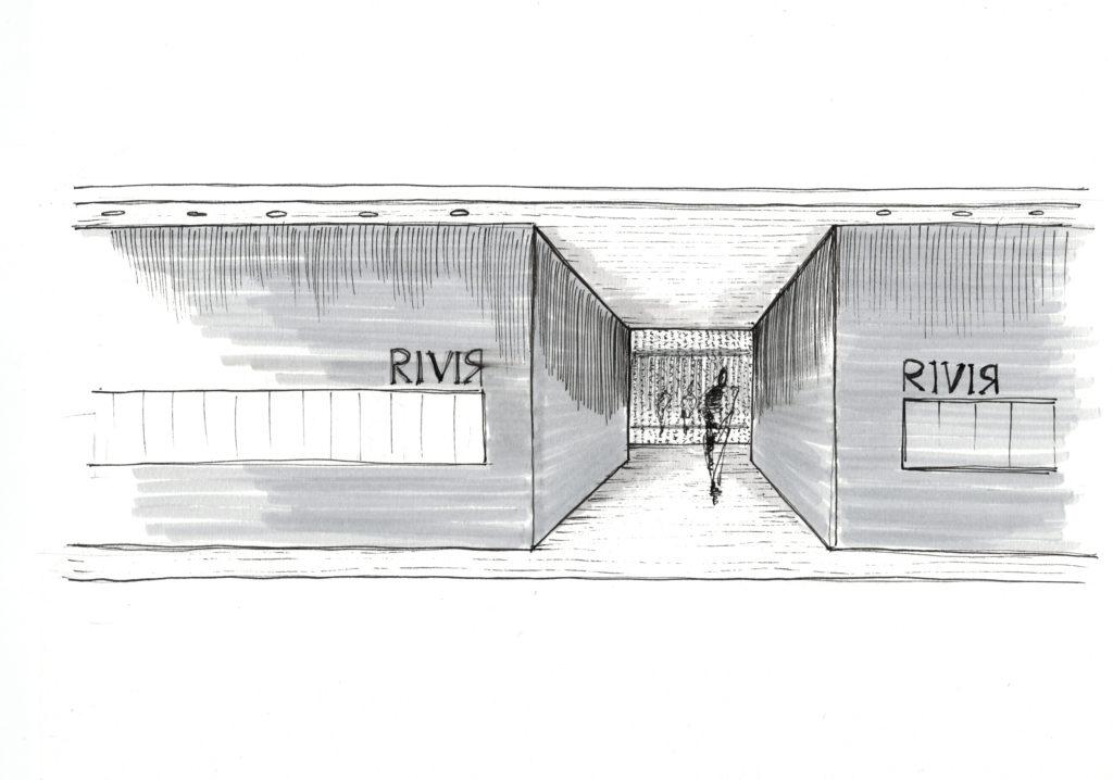 Showroom RIVIR - Foshan - interno ingresso esposizione