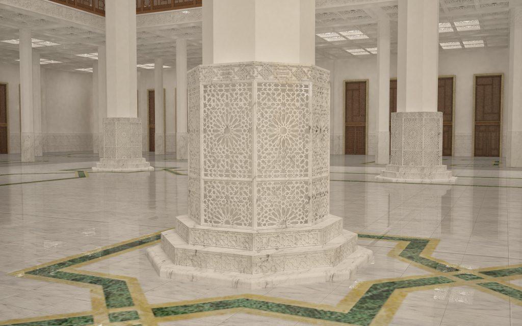 Dettaglio Basamento colonne